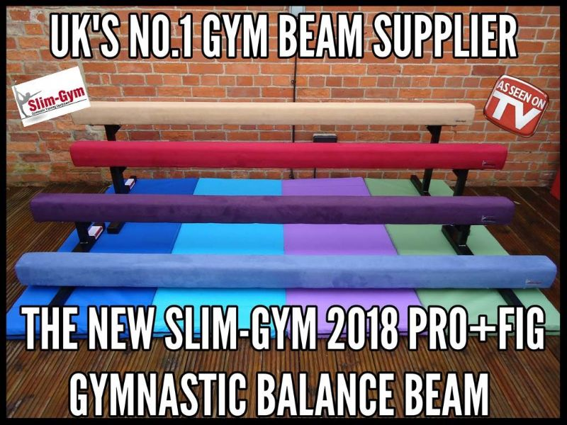 "8FT - 2.4MTR (24"" High) Gymnastic Balance Beam - ALL NEW COLOURS"